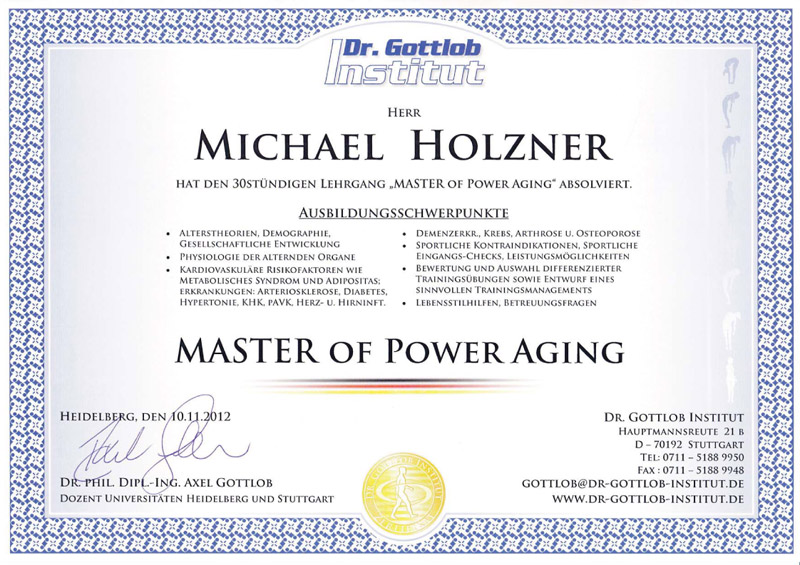 Master of Power Aging