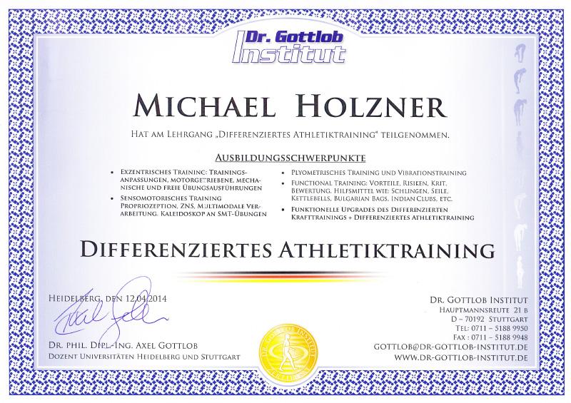Differenziertes Athletiktraining